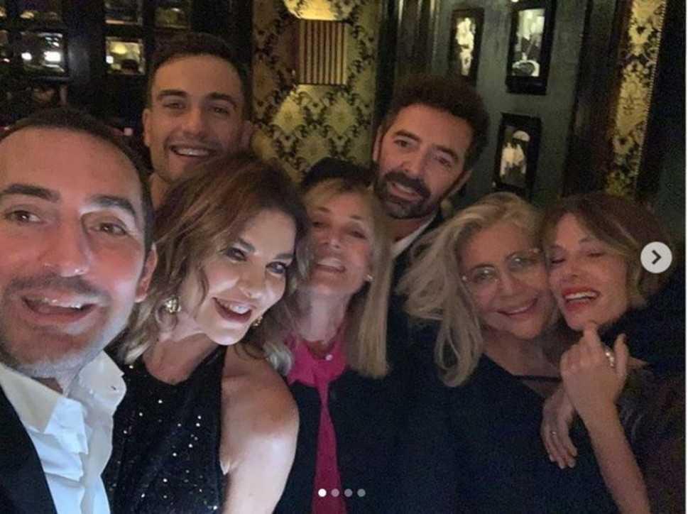 Mara Venier festeggia il suo compleanno in compagnia di tanti amici Vip